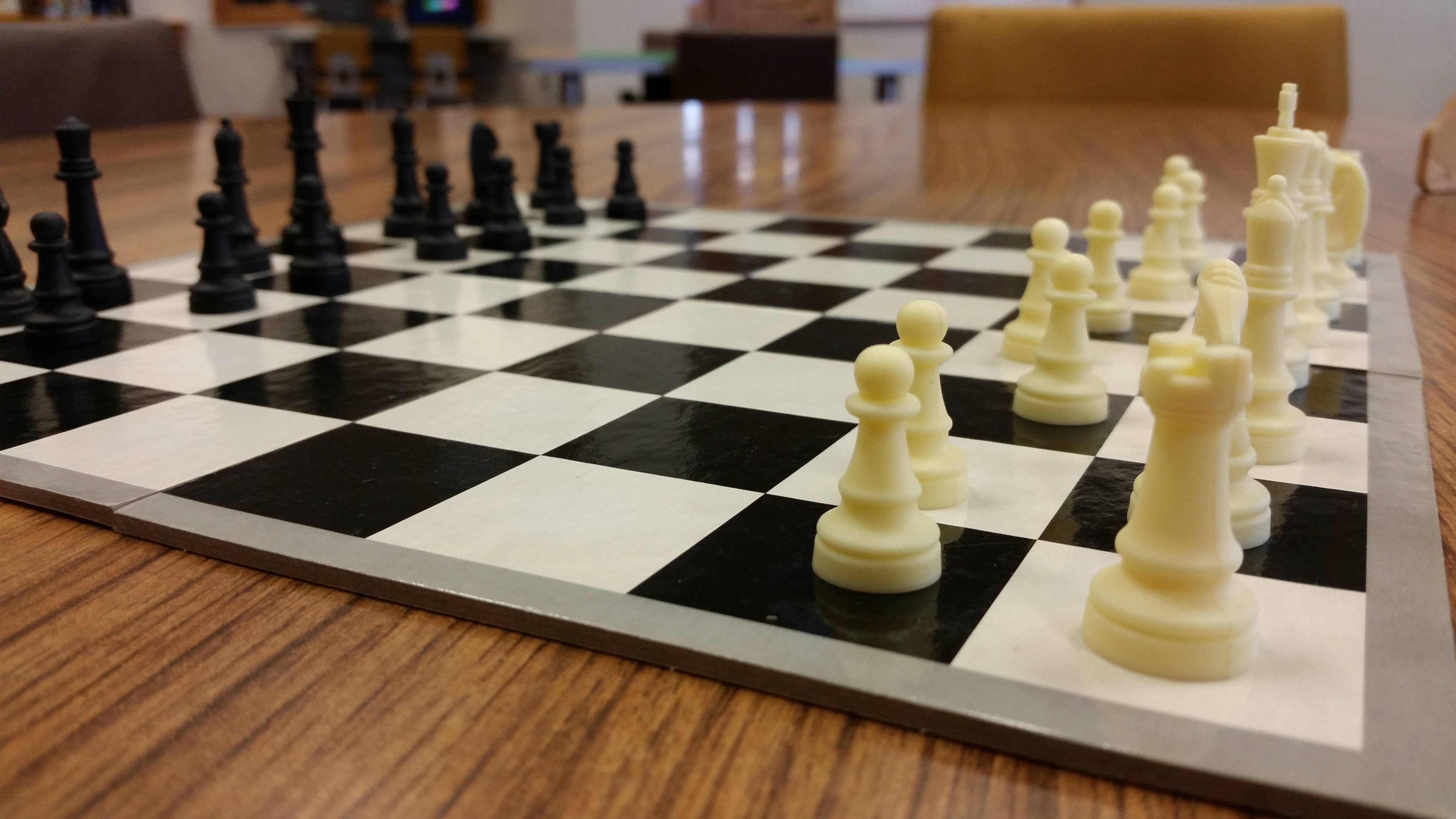 Chess club begins in September! Registration for children in 3rd through 8th grade begins September 1st, and registration for adults 18+ begins September 19th. For more information on when chess club begins, click the photo or visit our Facebook page.